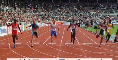 Carrera de Velocidad en Atletismo