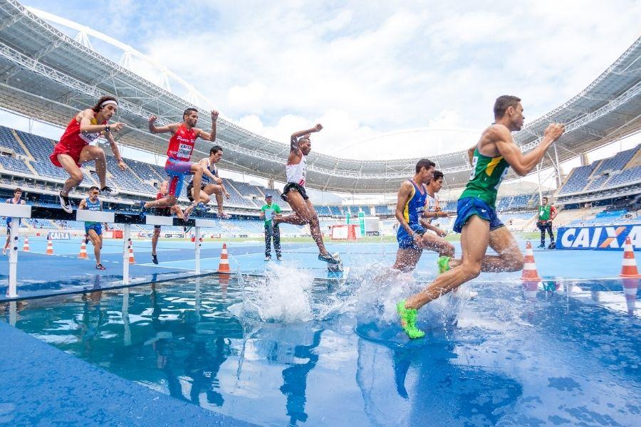 Carrera de Vallas en el Atletismo
