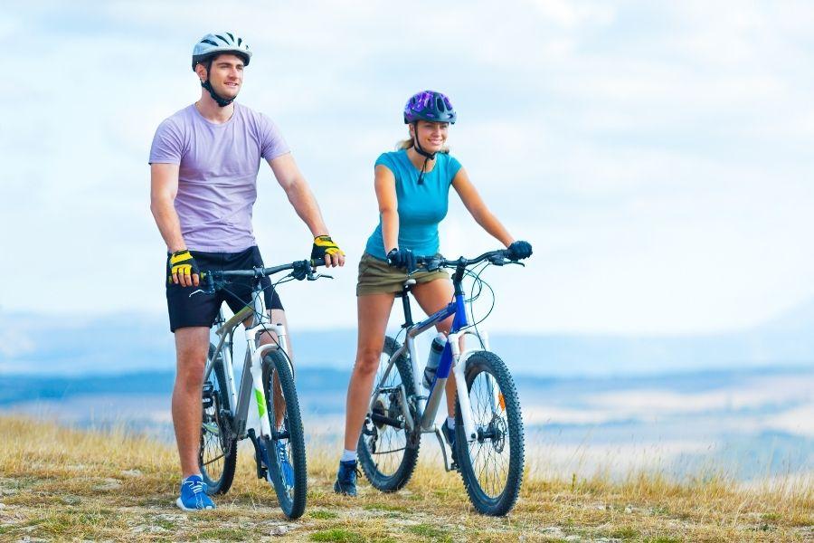 Montar en Bicicleta es Un Buen Ejercicio