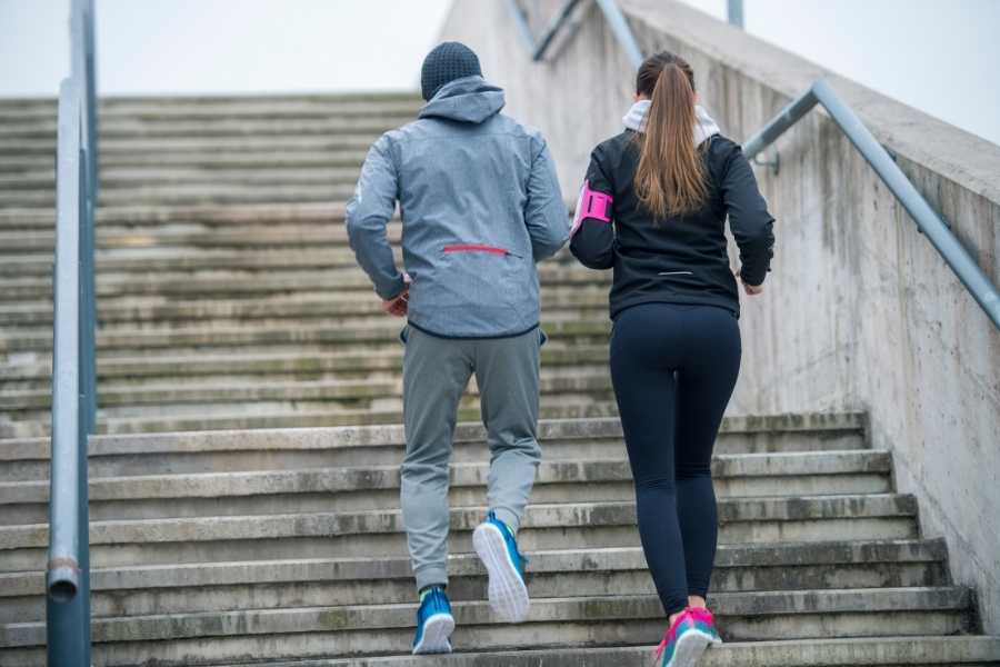 Beneficios de correr escaleras